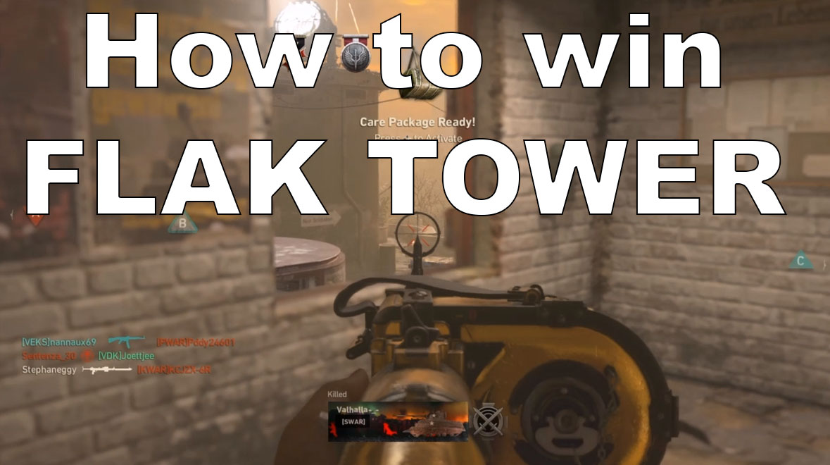 Flak tower hardcore dom camping