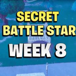 Week 8 battle star location