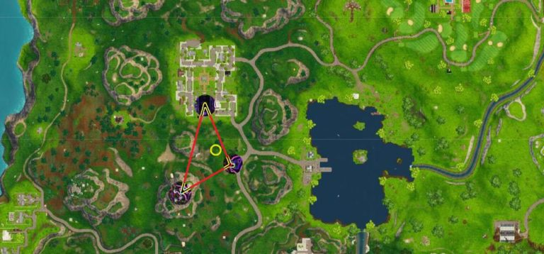 Stunt Machine Fortnite Search Between A Gas Station Soccer Pitch And Stunt Mountain Games Garage
