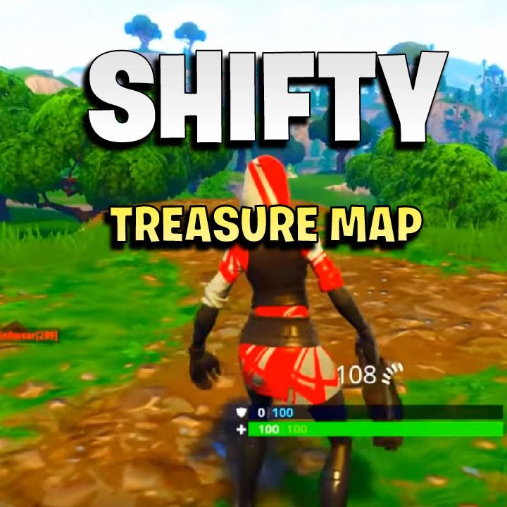 fortnite treasure map in shifty shafts