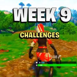 week 9 challenges