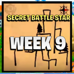 week 9 secret star