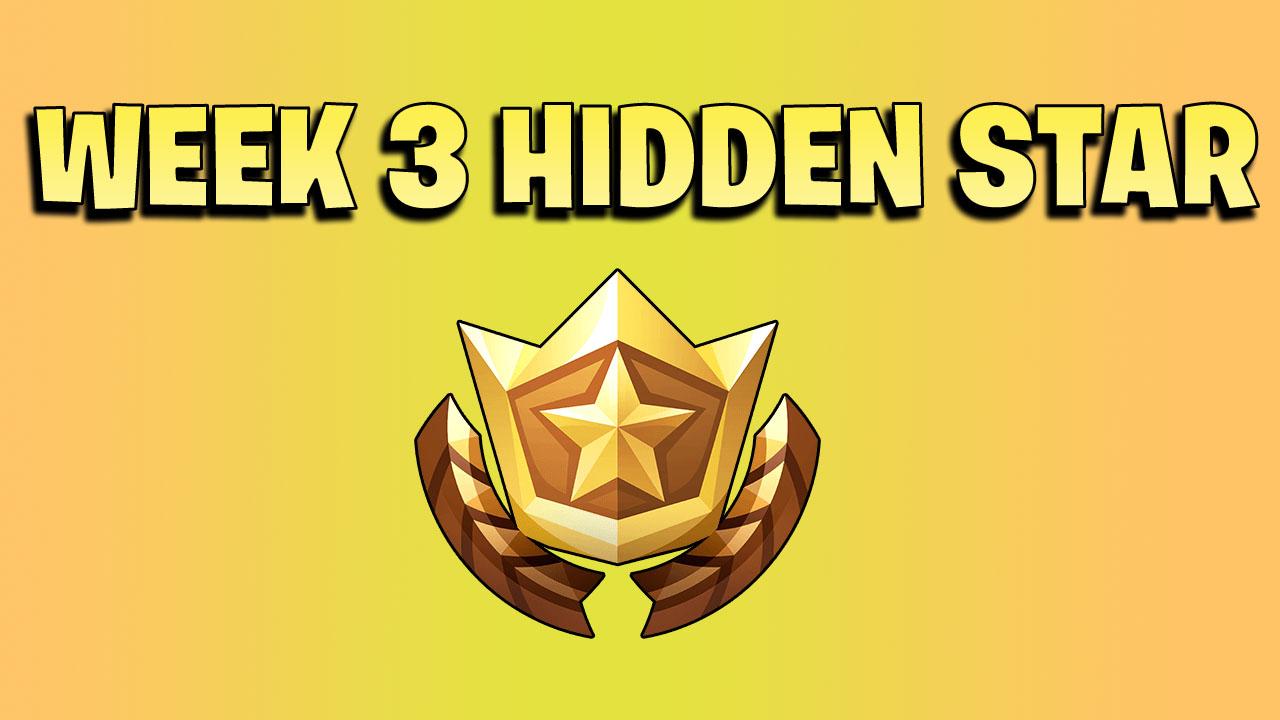 week 3 hidden star