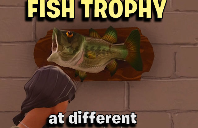 Dance with a Fish Trophy at different Named Locations thumb