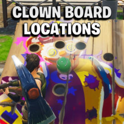 Get a score of 10 or more on different Carnival Clown Boards