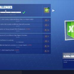 season 6 week 8 challenges