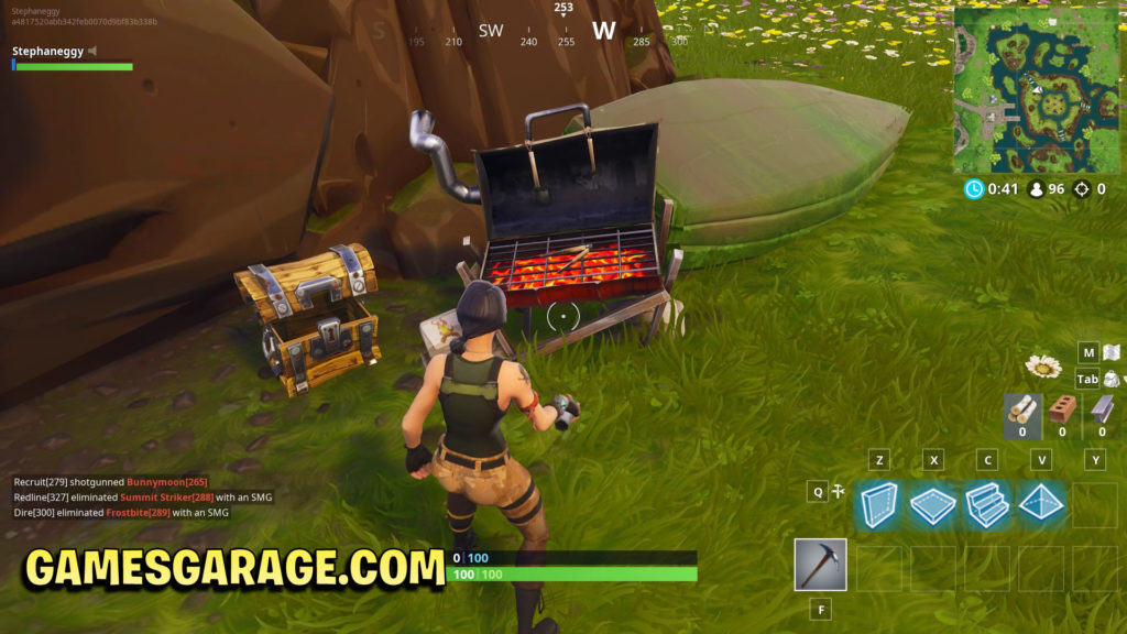 Week 9 secret star is located on top of this BBQ grill
