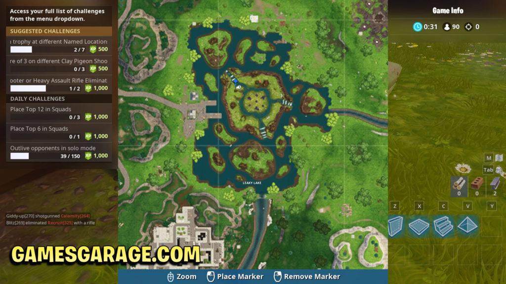 Secret star week 9 map location