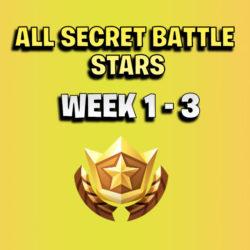 ALL Fortnite season 7 Hidden Battle Star Locations week 1 to 3 - Season 7 - thumb
