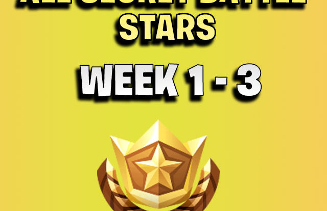 ALL Fortnite season 7 Hidden Battle Star Locations week 1 to 3 - Season 7 - thumb
