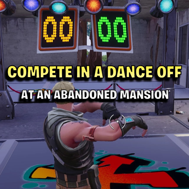 Compete In A Dance Off At An Abandoned Mansion Games Garage