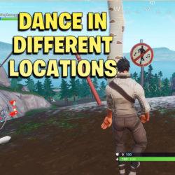 Dance in Different Forbidden Locations