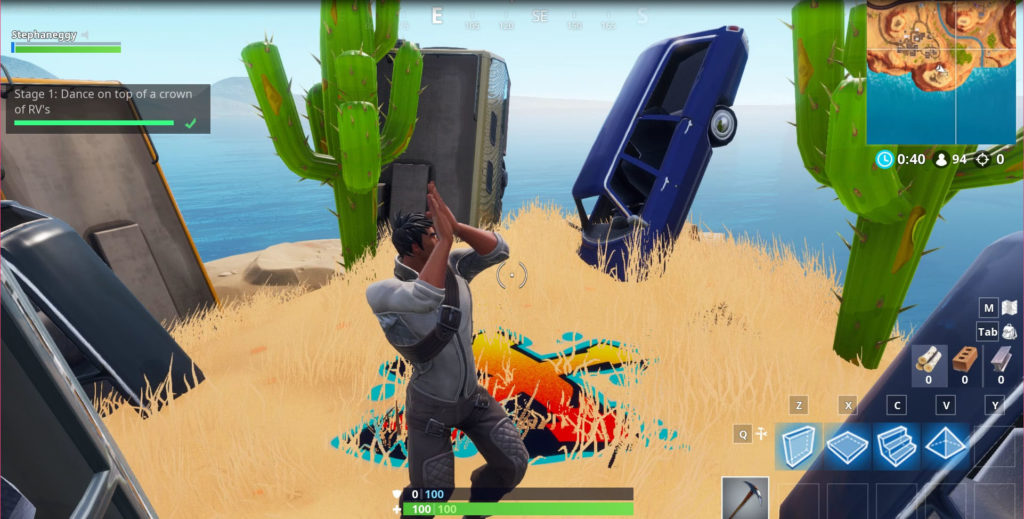 Dance on Top of a Crown of RV's - challenge. Do the dance