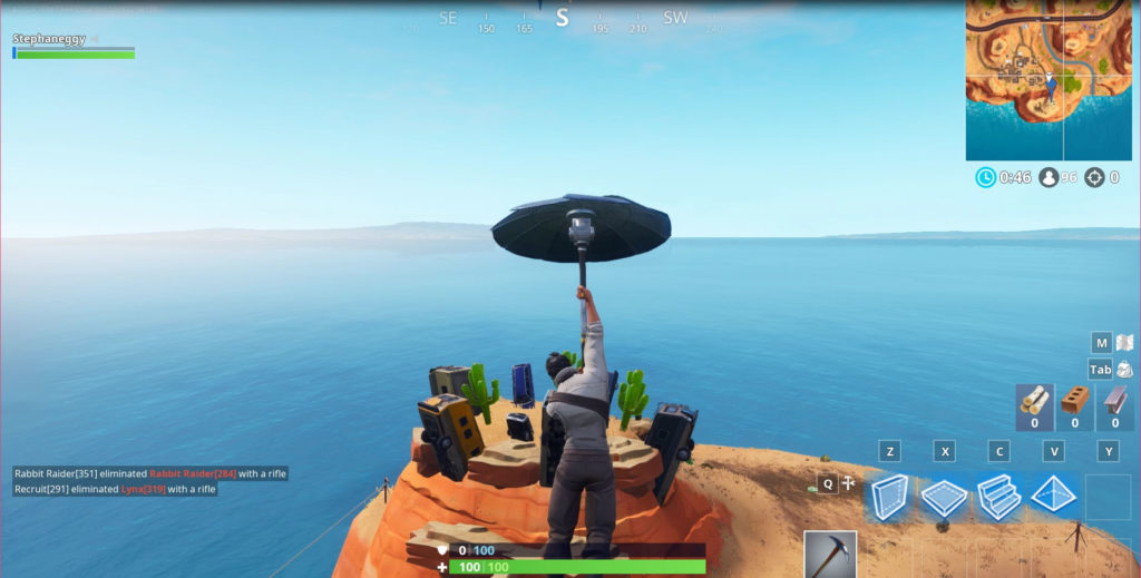 Dance on Top of a Crown of RV's - location