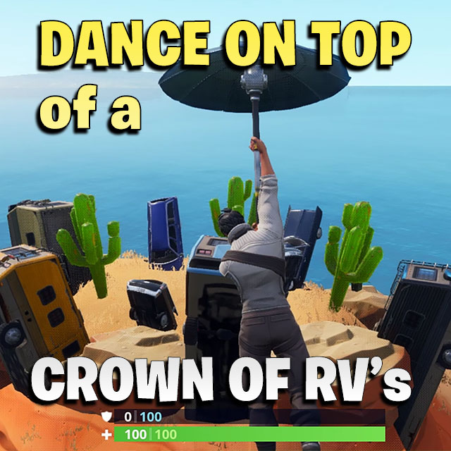 Dance On Top Of A Crown Of Rv S Games Garage