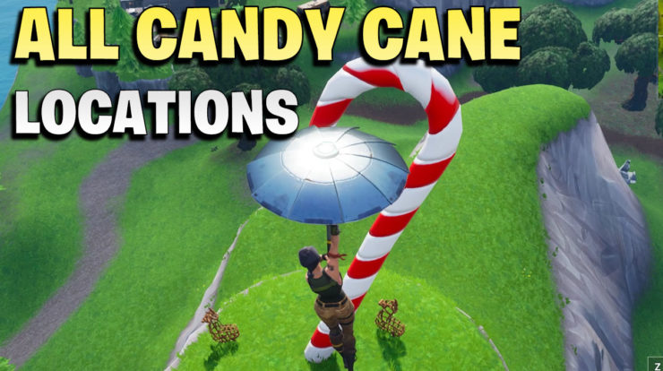 all candy cane locations