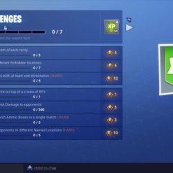 Season 7 week 1 challenges