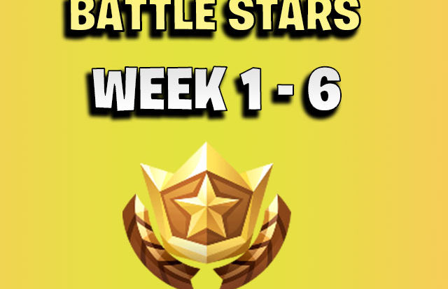 ALL Fortnite season 7 Secret Battle Star Locations week 1 to 6 - Season 7