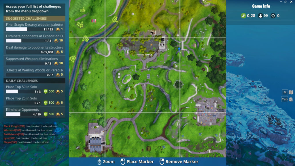 Search between a Giant Rock Man, a Crowned Tomato and an Encircled Tree map location
