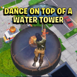 dance on top of a water tower