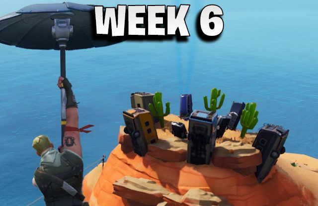Secret banner week 6 - Fortnite season 7