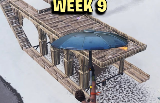 secret battle star week 9 - fortnite season 7