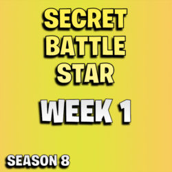 Fortnite secret battle star week 1 season 8