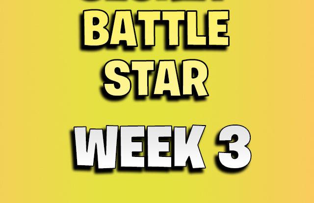 Fortnite secret battle star week 3 season 8
