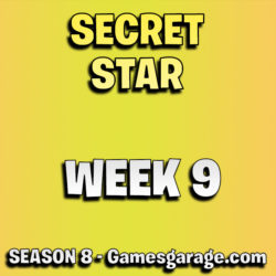 Fortnite secret battle star week 9 season 8