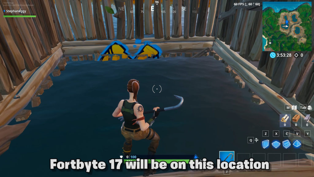 Fortbyte 17 location in fish