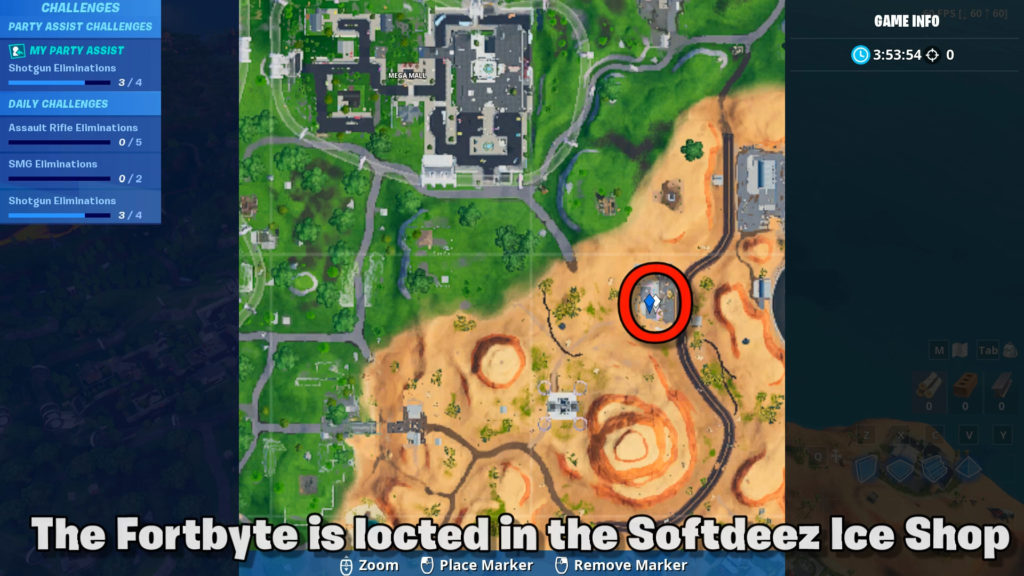 Fortbyte 6 map location