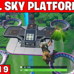 all sky platform locations - Fortnite