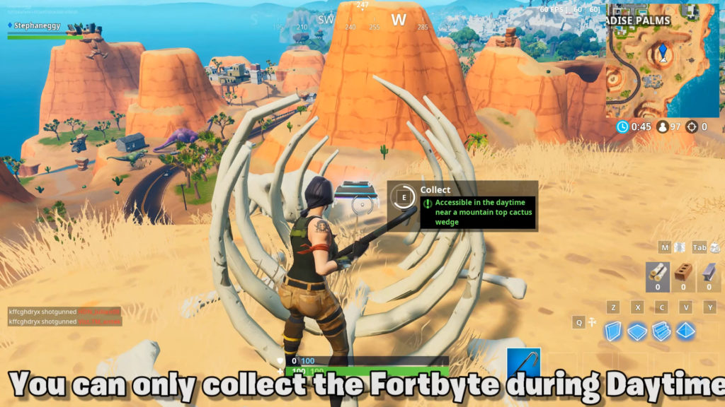 You can collect Fortbyte 81 here