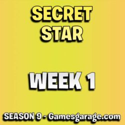 fortnite secret star week 1 season 9