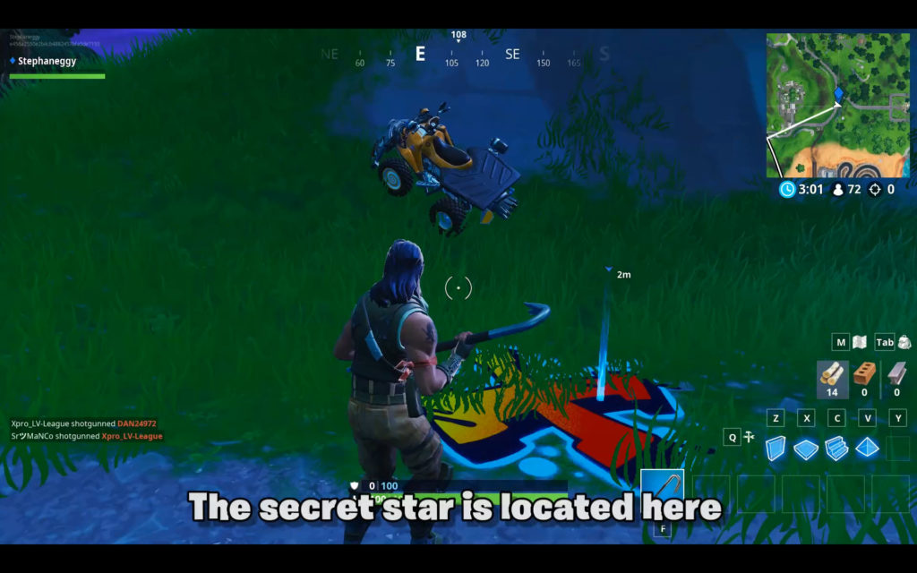 secret star week 1 location