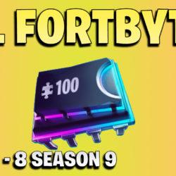 All Fortbytes week 1 - 8 - Fortnite Season 9