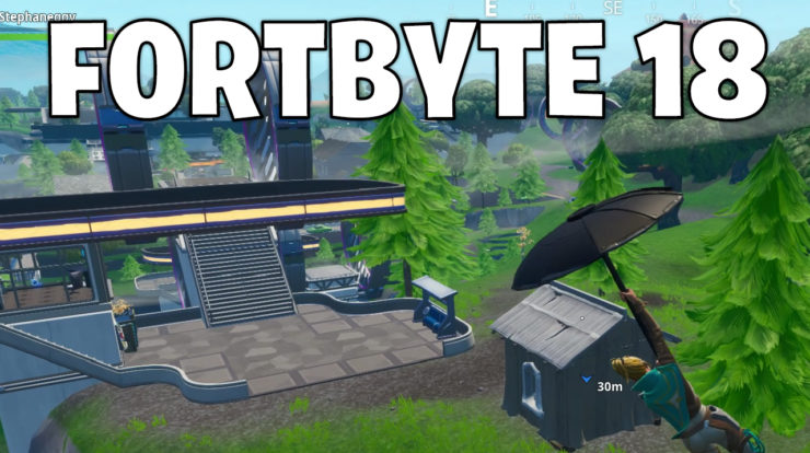 Fortbyte 18 location - Fortnite