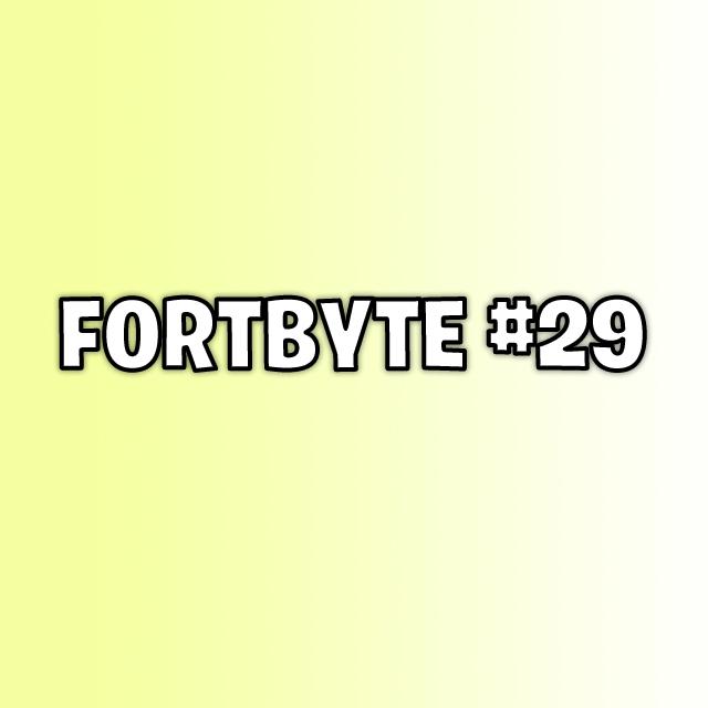 Fortbyte 29