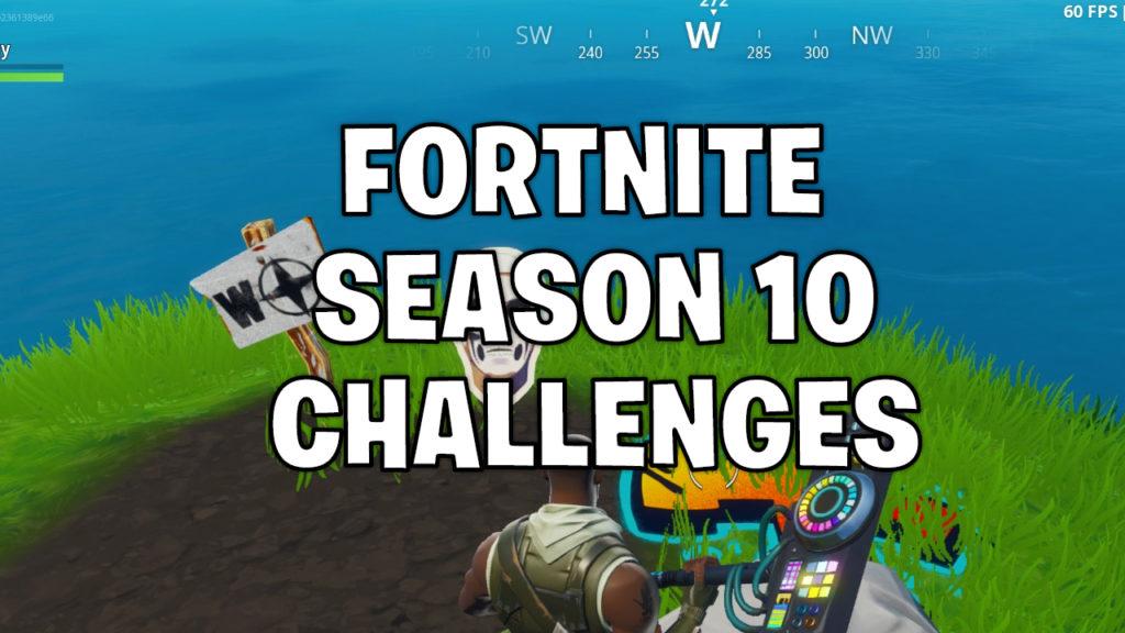 Fortnite season 10 challenge list