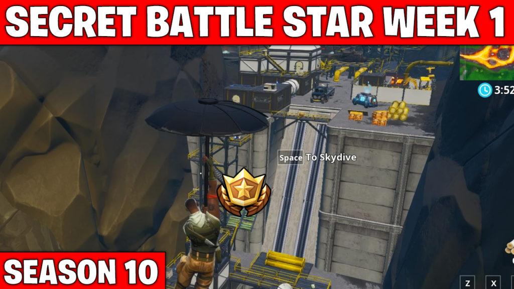 Secret Battle Star Week 1 Fortnite Season 10 Games Garage