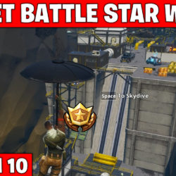 Secret battle star week 1 - Fortnite season 10
