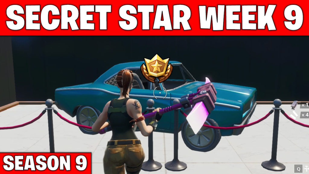 Secret star week 9