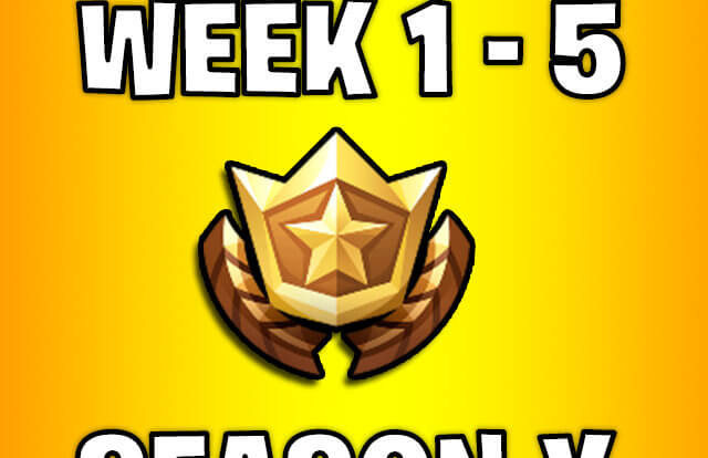all secret battle stars week 1 to 5