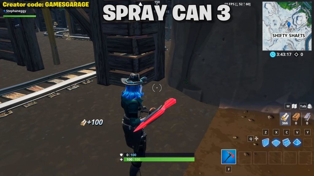 lost spray can 3 - shifty shafts