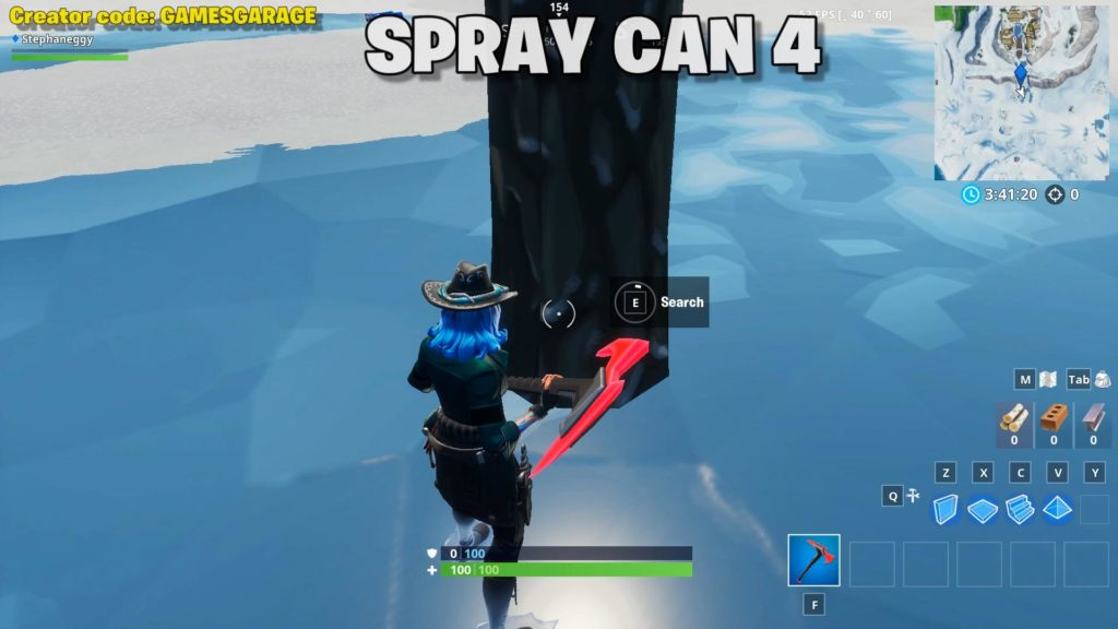 lost spray can 4 - viking village