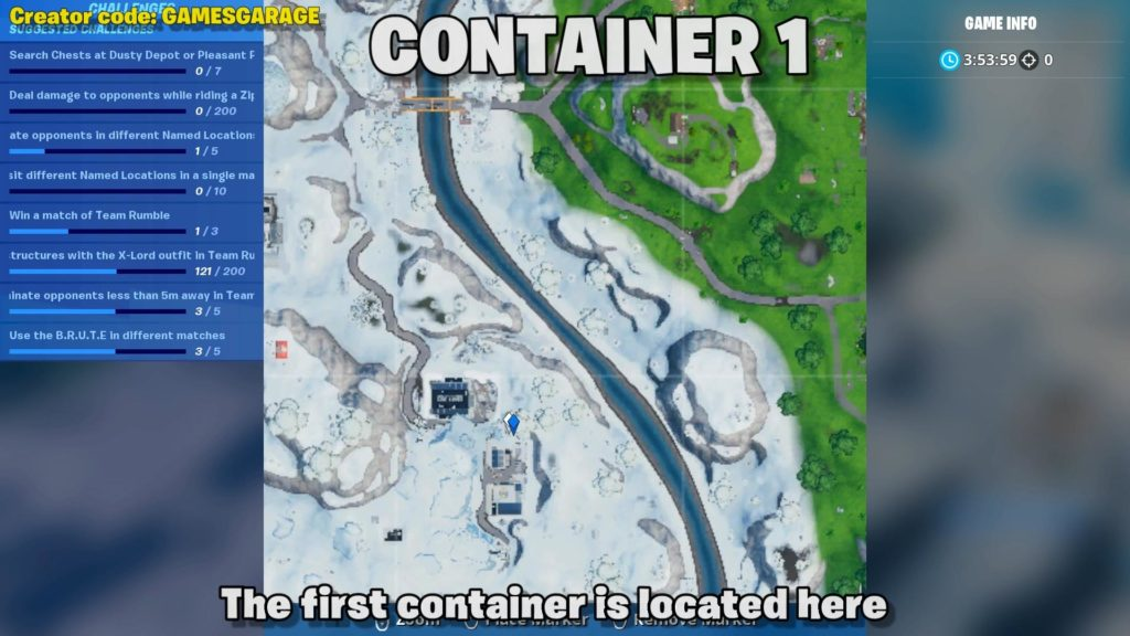search chests inside container with windows map location 1