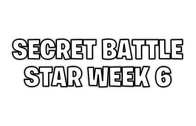 secret battle star week 6
