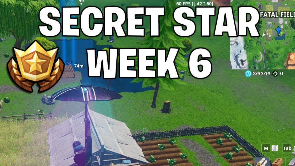 secret battle star week 6