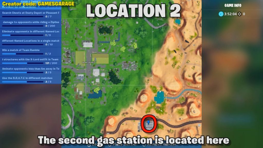 spray different gas station  map location 2