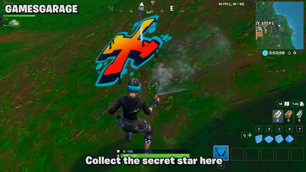 week 4 secret star exact location